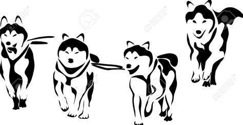 clipart cani malamute clipart clipground