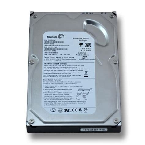 Hdd Seagate 80 Gb seagate st3808110as 80 gb sata 2 hdd images frompo