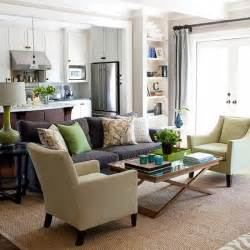 Green color living room9