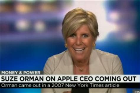 Suze Orman Comes Out Of The Closet by Bill Clinton Suze Orman Zuckerberg Praise Tim Cook