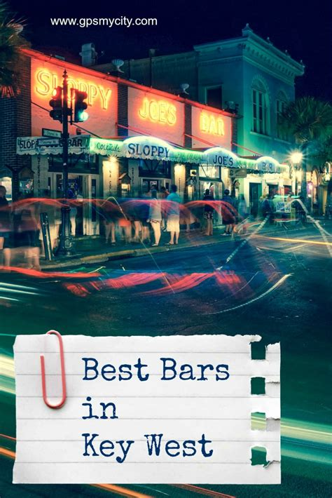 Top Bars In West best bars in key west