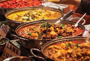 Table All You Can Eat Lunch Buffet All You Can Eat Buffet Saffron Indian Cuisine