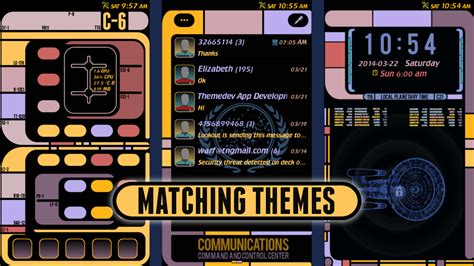 star trek themes for iphone 6 lcars for star trek fans ii android apps on google play