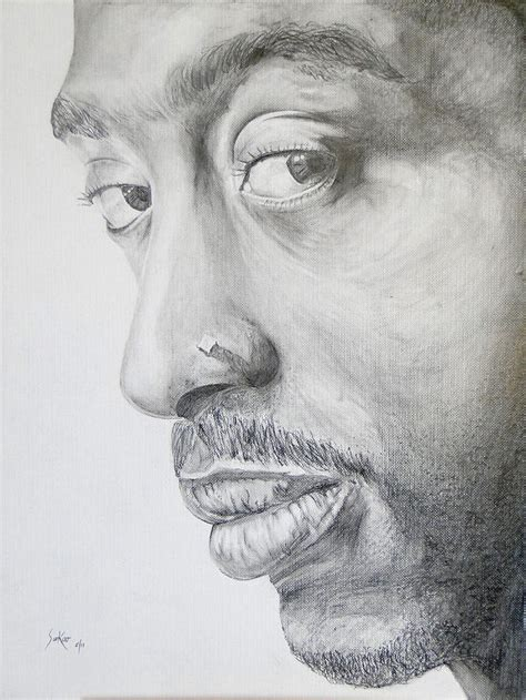 Drawing 2pac by 2pac Pencil Drawing Www Pixshark Images Galleries