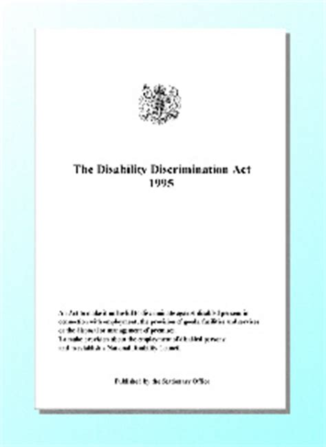 image gallery discrimination act 1995