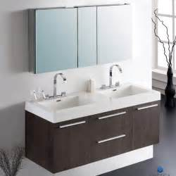 bathroom cabinet with sink and faucet fresca fvn8013go opulento gray oak modern sink