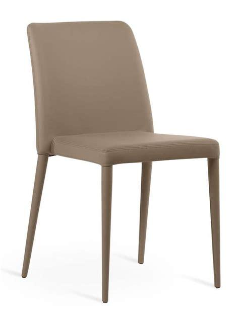 sedie rivestite sedute sedie moderne rivestite in pelle senza braccioli