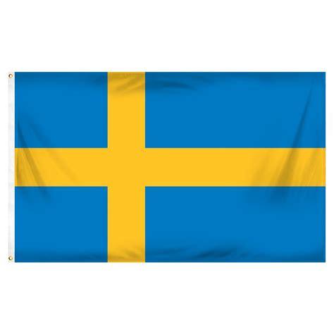 sweden 3ft x 5ft printed polyester flag
