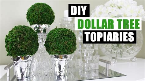 dollar tree diy home decor diy dollar tree topiaries dollar store diy topiary