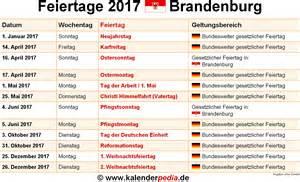 Kalender 2018 Ferien Und Feiertage Brandenburg Feiertage Brandenburg 2017 2018 2019