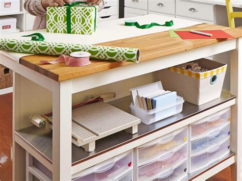 craft room tables craft and sewing room storage and organization interior