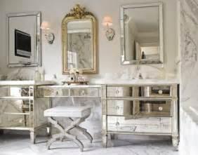 Mirrored Vanities For Bathroom by Mirrored Bathroom Vanity Design Ideas
