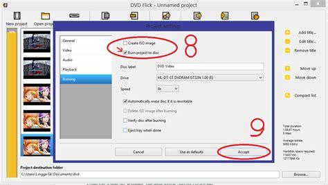 format file video dvd linggafiles burn file video ke format dvd