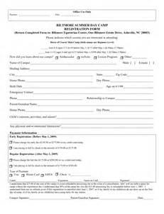 summer c registration form template best photos of website registration form template