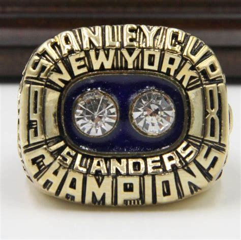 Ring Stand Football Club 3 nhl 1981 new york islanders stanley cup chionship replica ring