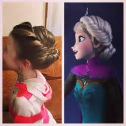 from frozen hairstyle disneys frozen hairstyle elsas coronation updo party