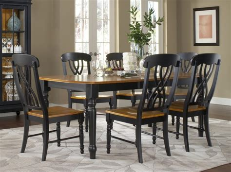 furniture amazing black dining room table set homelena