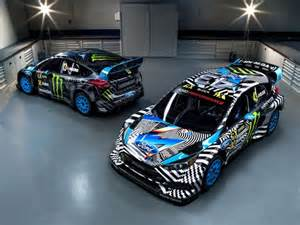 ken block s ford focus rs rx looks like some dope