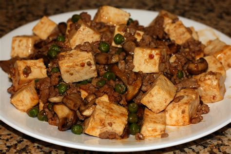 Sechuan Soya Bean Curd the unoriginal chef spicy szechuan tofu