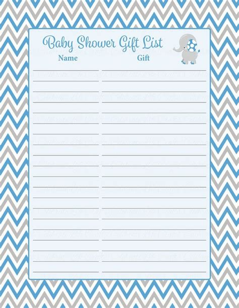 Baby Gifts For Baby Shower List by Best 25 Baby Shower Gift List Ideas On Baby
