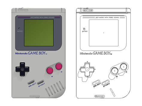 design game boy game boy graphic design by james marchment