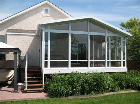 home plans with sunrooms gable sloped style roof glastar sunrooms by sunshade
