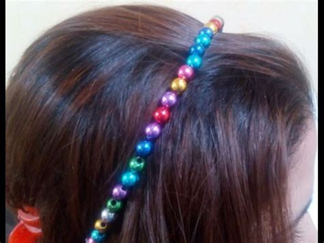 how to bead hair diy crafts how to make beaded hair accessories