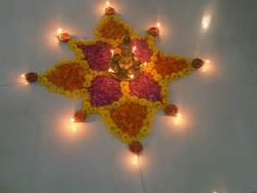 deepavali decorations home diwali diya pooja thali rangoli decoration ideas pictures