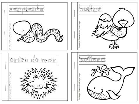 imagenes educativas para imprimir y colorear mi libro de colorear de animales salvajes 4 animales