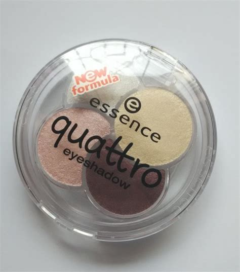 Eyeshadow Essence Quattro essence 15 most wanted quattro eyeshadow review