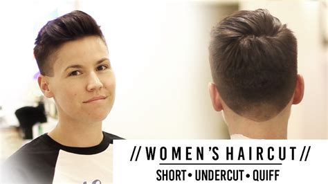 haircut for men and women short undercut hairstyles
