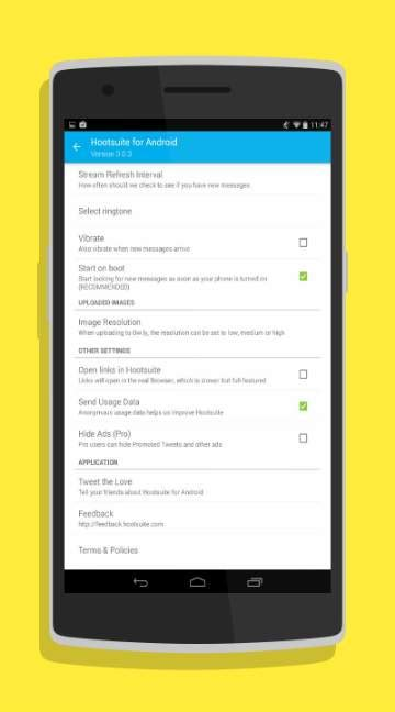 hootsuite for android hootsuite android app free androidfry