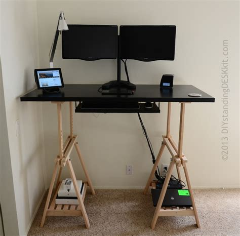 Standing Up Desk Ikea Standing Desks Ikea 10 Ikea Standing Desk Hacks With Ergonomic Appeal Knotten Standing Desk
