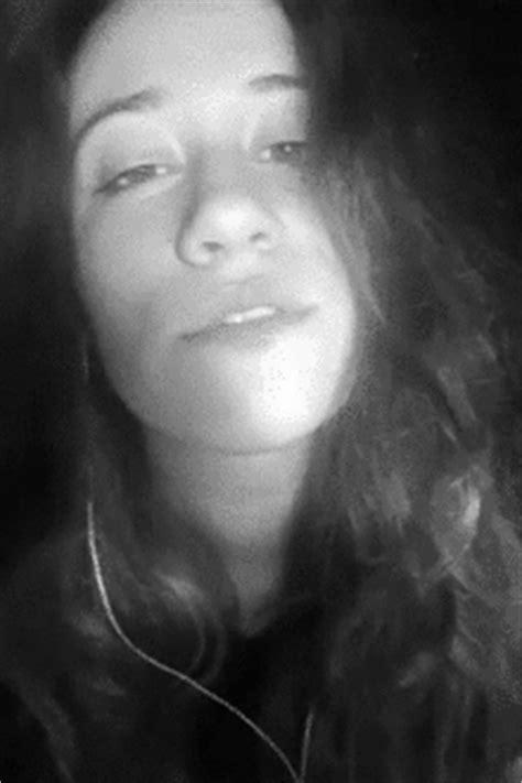 black and white girl metalhead gif | WiffleGif