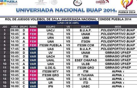 Calendario N F L 2015 Conferencia Nacional De Voleibol Conadeip Universiada
