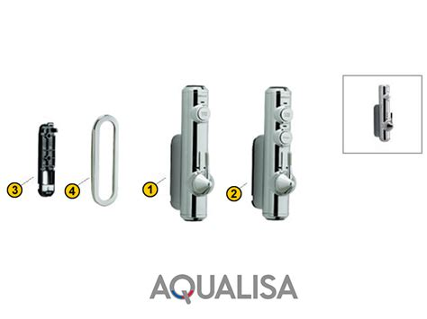 Aqualisa Showers by Aqualisa Axis Digital Concealed Shower Spares And Parts
