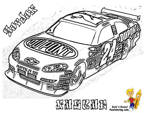 full force race car coloring pages free nascar