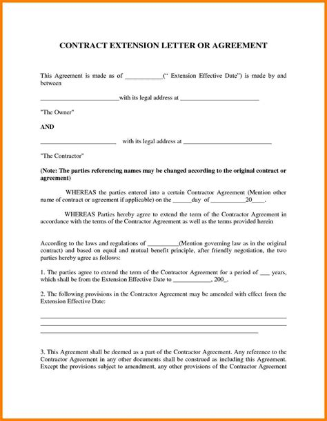 Contract Letter Between Two Companies Doc 636686 7 Contract Agreement Template Between Two Bizdoska