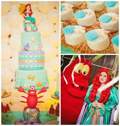 little decorations kara s party ideas little mermaid birthday party