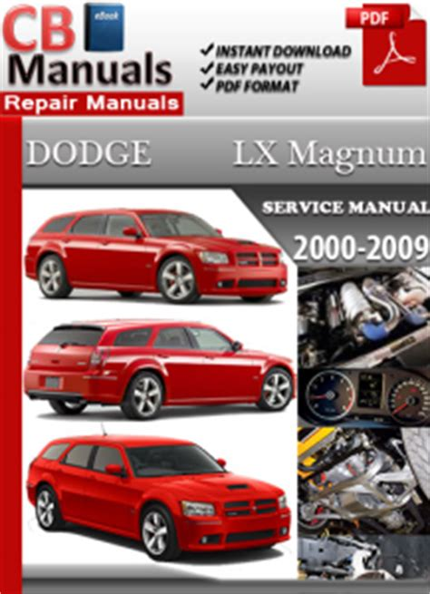 dodge lx magnum 2000 2009 service manual free download service repair manuals