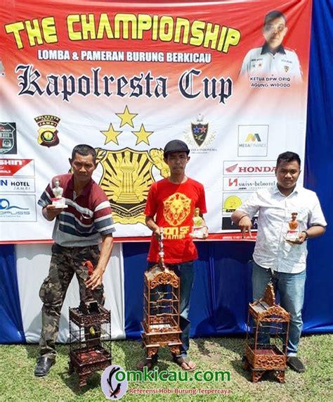 Harga Pakan Burung Golden Cup pleci golden cup kebanggaan om arun sf jambi om kicau