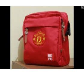 Tas Selempang Ac Milan Merah tas selempang bola jual tas bola
