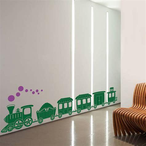 Train Wall Stickers train wall sticker by snuggledust studios