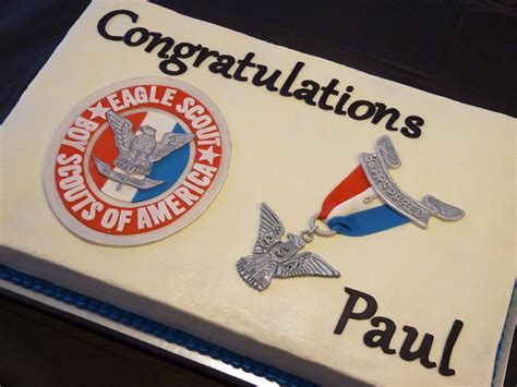 Eagle Scout Cake Decorations scout eagle cake ideas and designs