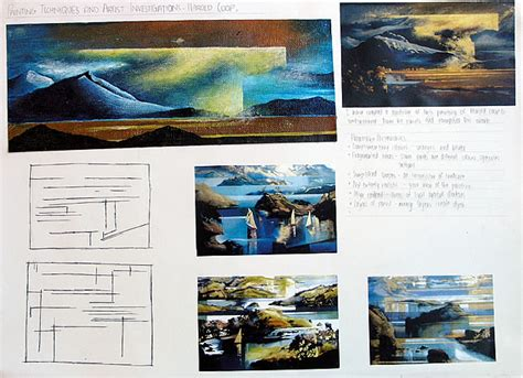 layout artist work abroad 100 igcse art and design an exemplary coursework project
