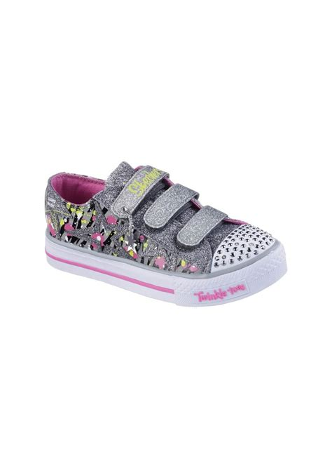 skechers light up sneakers for toddlers skechers skechers shuffles glitter n glitz light up