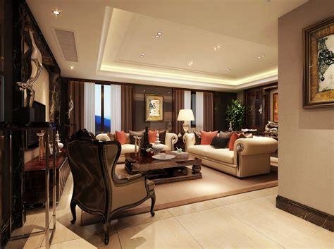furnished rooms modern living room fully furnished 3d model max cgtrader