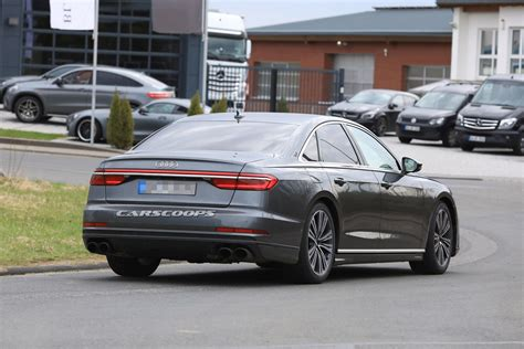 2020 Audi S8 Plus by 2019 Audi S8 Scooped With Sportier Styling And More Power
