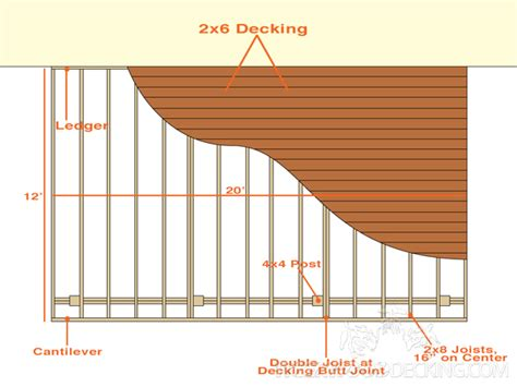 draw deck drawing plans for your deck tigerwood decking
