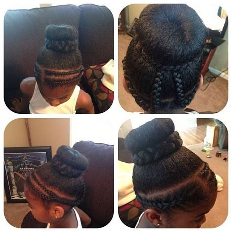 donut with a braid around it 17 best images about natty styles for little girls on